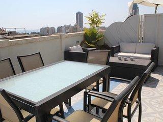 Nahalat Binyamin Duplex, Roof top , Carmel Market
