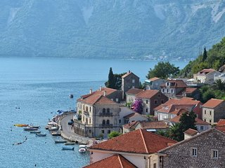 'Pip'- Stunning 1 bed Apartment in picturesque Perast