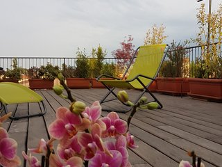 STELLA G  a little gem in the sky, big terrace ,15 minutes from Venice