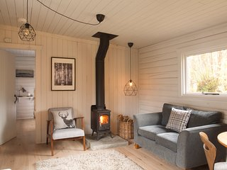 Woodside Forest Log cabin  retreat Strathyre, Callander, Trossachs