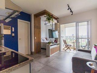 Studio na Vila Madalena, Vista Incrível! Azul 1209 - Quinta Azul