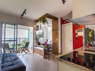 Studio na Vila Madalena, Vista Incrível! Vermelho 1207 - Quinta Vermelho