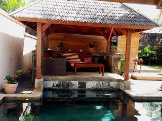 Oasis 1,villa 8 total privacy on garden/pool!No insight views; 2 bedr. en suite
