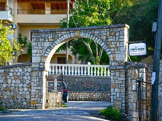 Corfu Room apartments, in a very piecefull and full of trees area