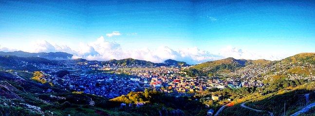 Cameron hill overlooking La Trinidad Valley