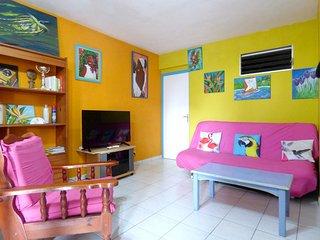 Spacious apartment in Les Trois-Ilets with Parking, Internet, Washing machine, A