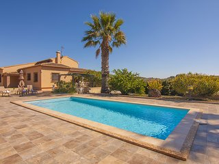 VINYES villa rustica en Benissa para 6 pax con piscina privada y wifi gratis