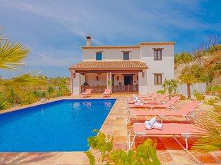 EL RACO,villa rustica en las colinas de Benissa, con piscina privada wifi gratis