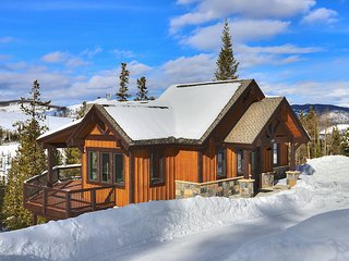 New Construction Mountain Modern Home with Views of the Peaks of Breckenridge