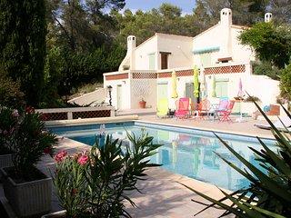 Villa provençale avec piscine de belles dimensions à Bagnols-en-Forêt