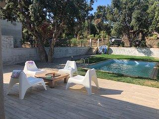 Villa 6 couchage a 300 m de la plage Sainte Lucie de Porto-vecchio