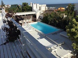 La Barra, 4 suites vista mar, parrillero,