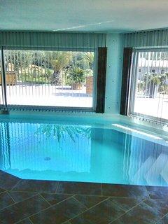vue du domaine taino : piscine intérieur