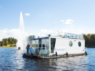 Houseboat Finland: Houseboat DeLuxe 42 m2 / 8 pers