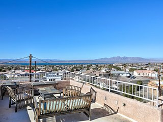 NEW! Lake Havasu City Home w/Rooftop Patio & Views