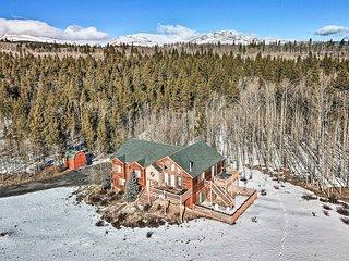 NEW Fairplay Home on 8 Acres-20 Mi to Breckenridge
