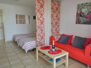 Cozy apartment in Tías with Internet, Washing machine, Pool, Terrace