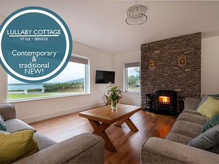 Lullaby Cottage – NEW! Incredible views across Ventry Harbour