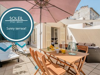 Soleil - Large Sunny Terrace! AVAIBLABLE FOR GRAND PRIX AND CANNES FILM!