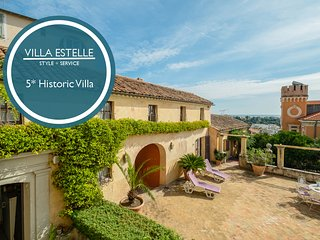 Villa Estelle - Heart of historic Haut-de-Cagnes. AVAIBLABLE FOR GRAND PRIX!