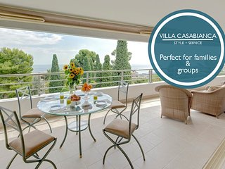 Villa Casabianca - Amazing terrace and swimming pool! AVAILABLE FOR GRAND PRIX!