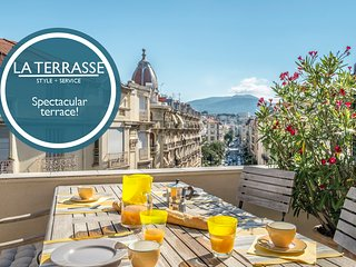 La Terrasse - Wonderful, large terrace in a great location!