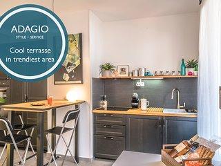 Adagio - Sunny terrace!