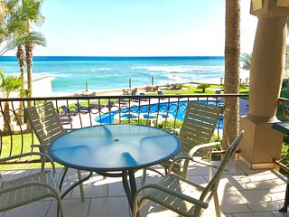 Ocean front 3 bedroom 2 bath 1850 sq. Ft. Corner unit 180 degree view remodeled