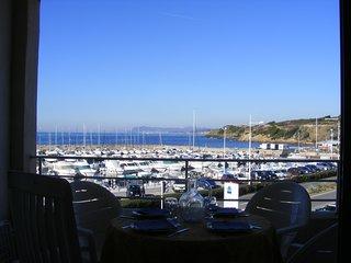 Front de mer panoramique, Appart 2 pieces terrasse. Piscine, tennis, commerces