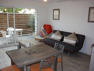 Appartement 2 pieces en rez-de-jardin