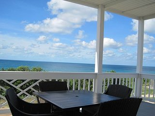 New Condo w/Heated Pool, Private Beach, Dock, 2-Ocean View, Golf Cart, Kayaks