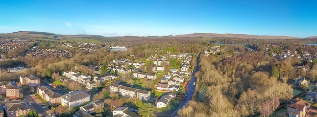 Milngavie sits on the edge of beautiful countryside yet is well connected to other parts of Scotland