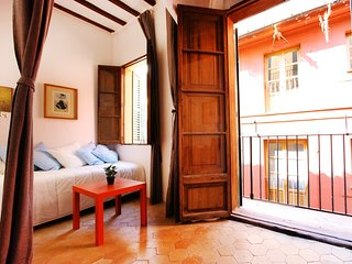 Spacious apartment in the center of Palma with Internet, Washing machine, Balcon