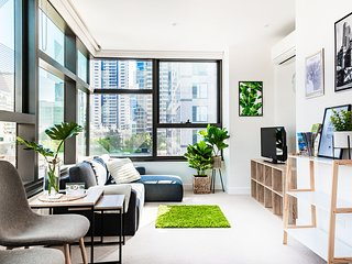 Greenhouse Apartment - CBD, Melbourne central.