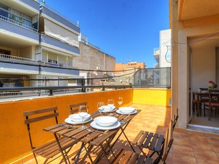 Spacious apartment a short walk away (312 m) from the 'Playa de Palma' in Palma