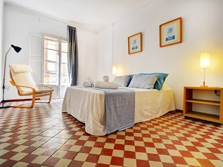 Spacious apartment in the center of Palma with Internet, Washing machine
