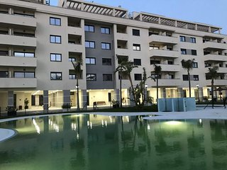 La Vega apartment in Torre del Mar with WiFi, air conditioning, private parking,
