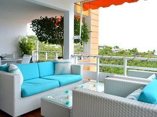 Duplex Eeva - Tahiti - Punaauia - 3 bedrooms, lagon view & pool - 5 persons