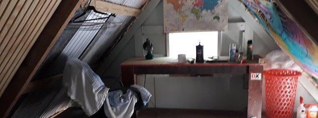 Loft desk area