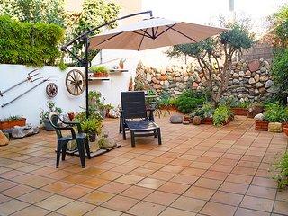 Bonito Apartamento con Jardin al lado de la Playa