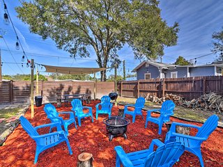 NEW! Renovated Tampa House w/Private Yard+Fire Pit