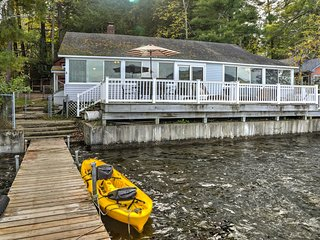Pet-Friendly Berkshires Home w/Dock & Fire Pit!