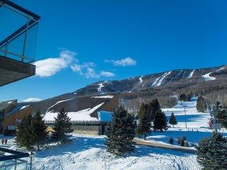cozy ski in ski out studio Mont Sainte Anne