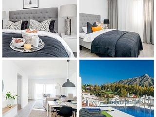 ALB205- Luxury 3 bedroom apartment Nueva Andalucia