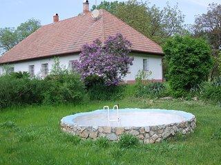 Rustikales Landhaus in der Puszta, mit Reitmöglichkeit