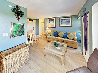 5th-Floor Condo at The Wave w/ Pool & Fitness Center - Near Beaches & Pier!