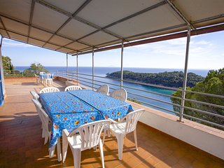 Villa with terrace on the sea - Villa 10 Beds with sea view terrace on Fetovaia