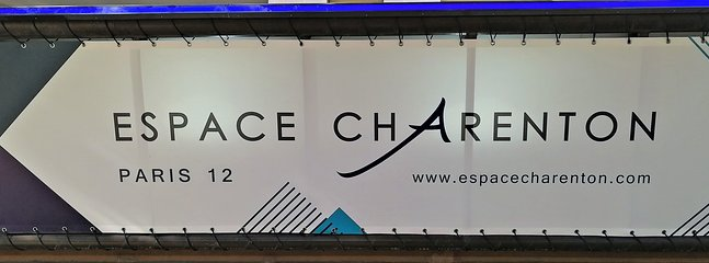 we are close to ESPACE CHARENTON