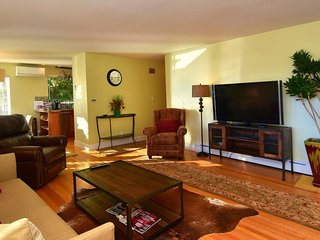 LUXURY LARGE 2BD CONDO - AC - GAS FIREPLACE - SUNNY AND BRIGHT - 5 STAR RATINGS