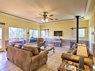 NEW! Waterfront Granbury Home w/ Deck & Boat Dock!